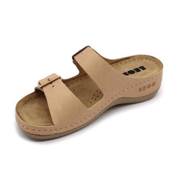 Leon Comfort női papucs - 908 Bézs