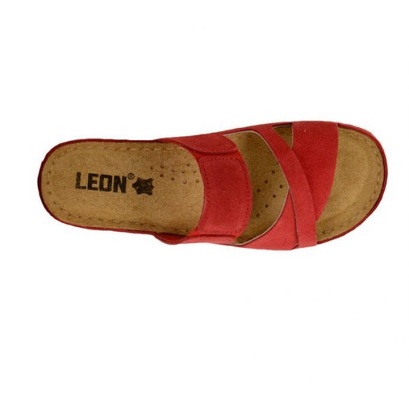 Leon Comfort női papucs - 909 Red