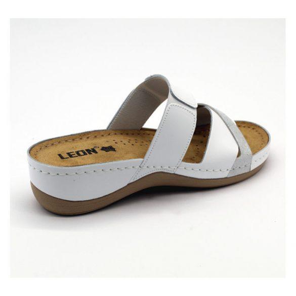 Leon Comfort női papucs - 909 White