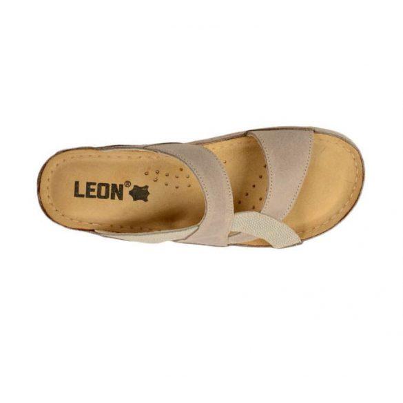 Leon Comfort női papucs - 911 Barna