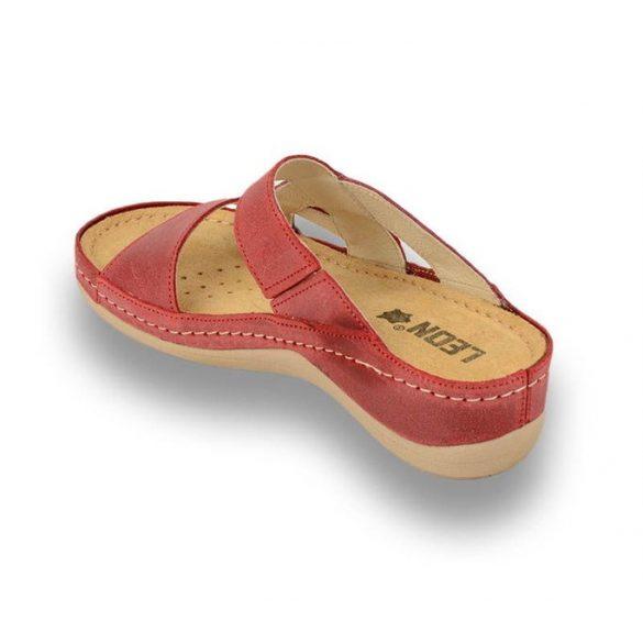 Leon Comfort női papucs - 911 Piros