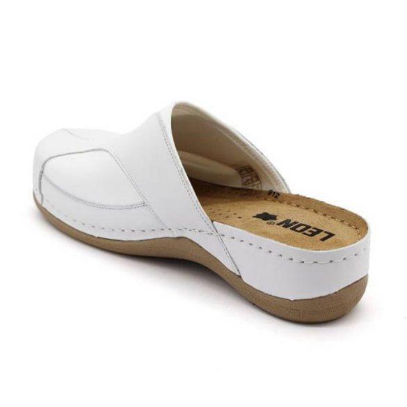 Leon Comfort női papucs - 912 Fehér
