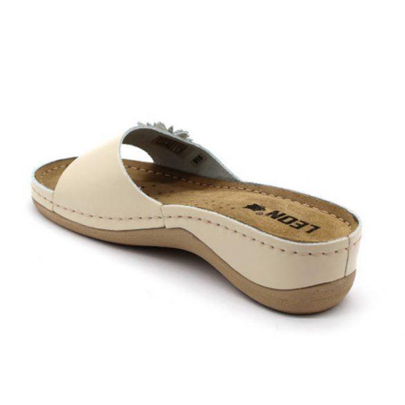 Leon Comfort női papucs - 915 Bézs