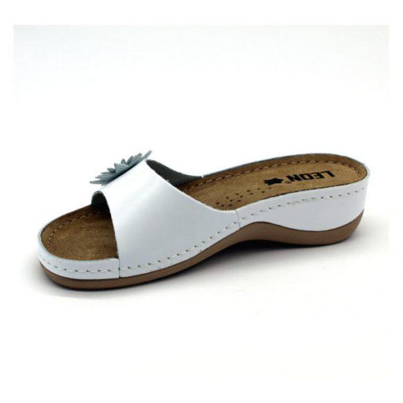 Leon Comfort női papucs - 915 Fehér