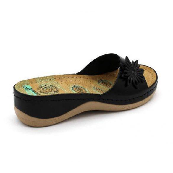 Leon Comfort női papucs - 915 Fekete