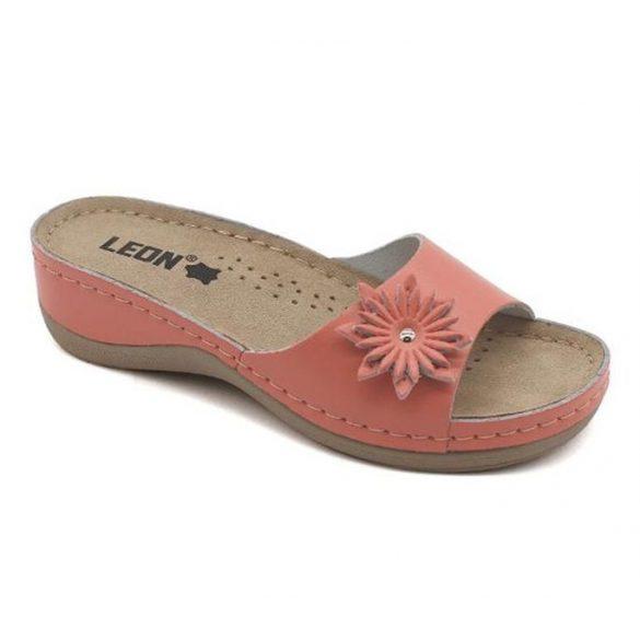 Leon Comfort női papucs - 915 Korall