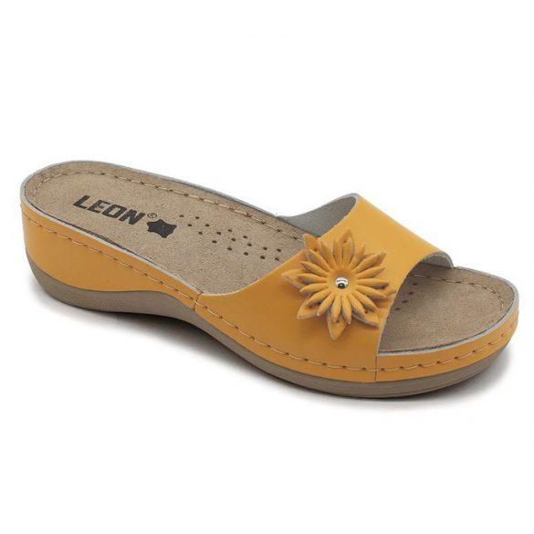Leon Comfort női papucs - 915 narancssárga