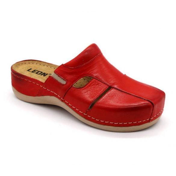 Leon Comfort női papucs - 925 Piros