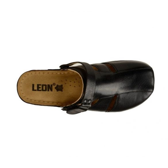 Leon Comfort női papucs - 926 Fekete