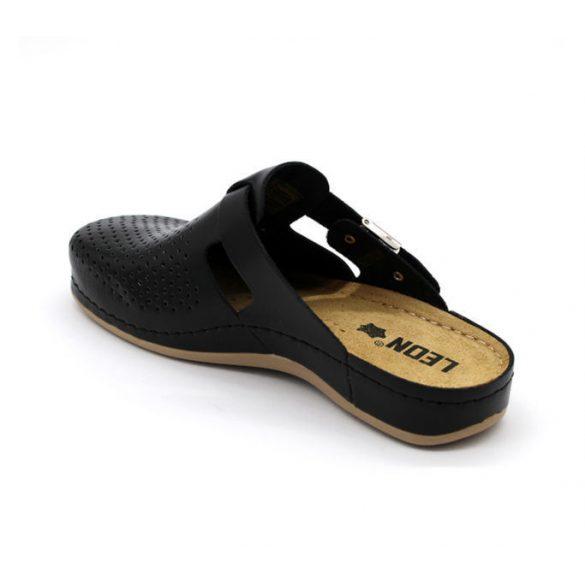 Leon Comfort női papucs - 950 Fekete