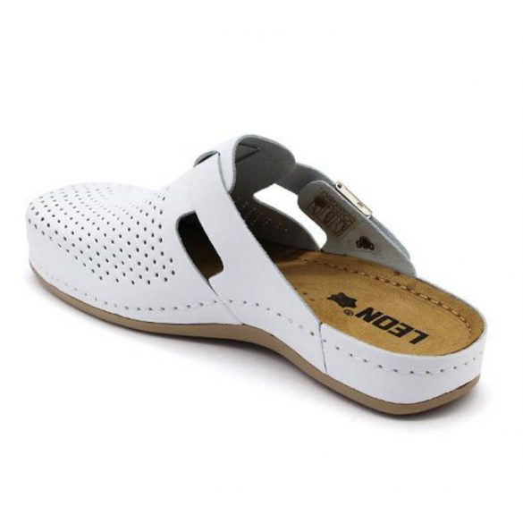 Leon Comfort női papucs - 950 Fehér