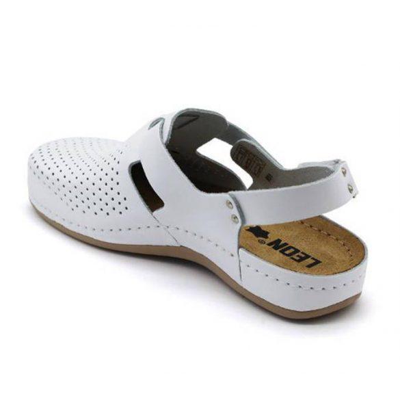 Leon Comfort női szandál - 951 Fehér