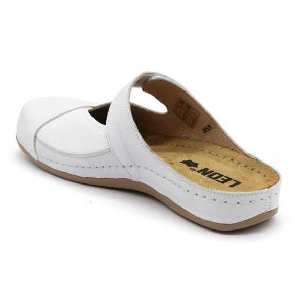 Leon Comfort női papucs - 953 Fehér
