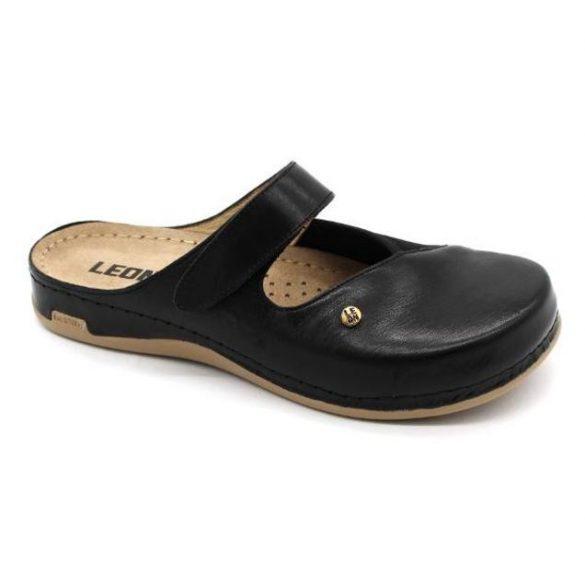 Leon Comfort női papucs - 953 Fekete