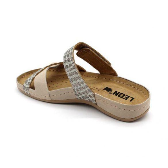 Leon Comfort női papucs - 957 Bézs
