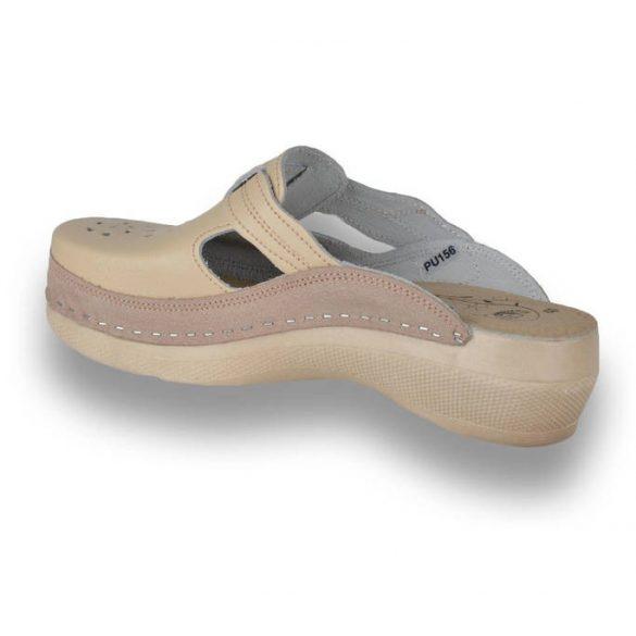 Leon Comfort női papucs - Pu 156 bézs