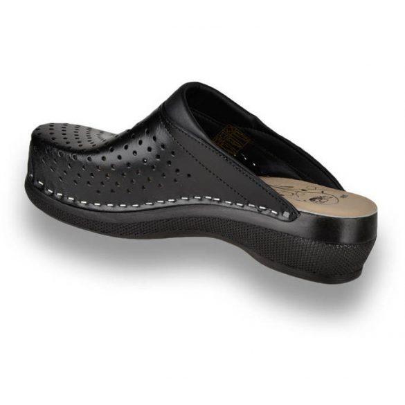 Leon Comfort női papucs - PU 100 Fekete