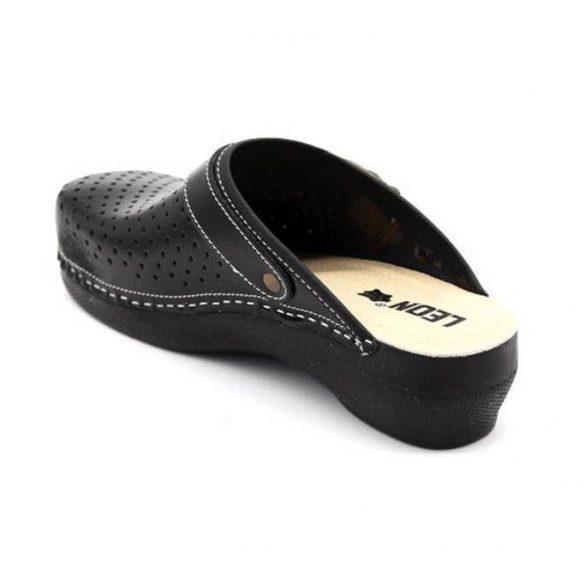 Leon Comfort női papucs - PU 101 Fekete