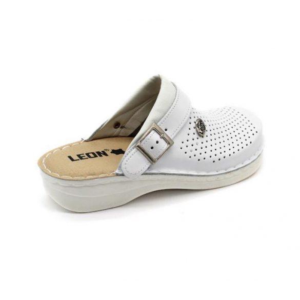 Leon Comfort férfi papucs - V202M Fehér